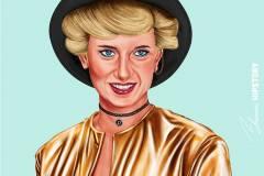 Lady Diana by Amit Shimoni.