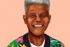 Nelson Mandela by Amit Shimoni.