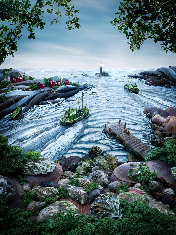 Findus-Fishcape
