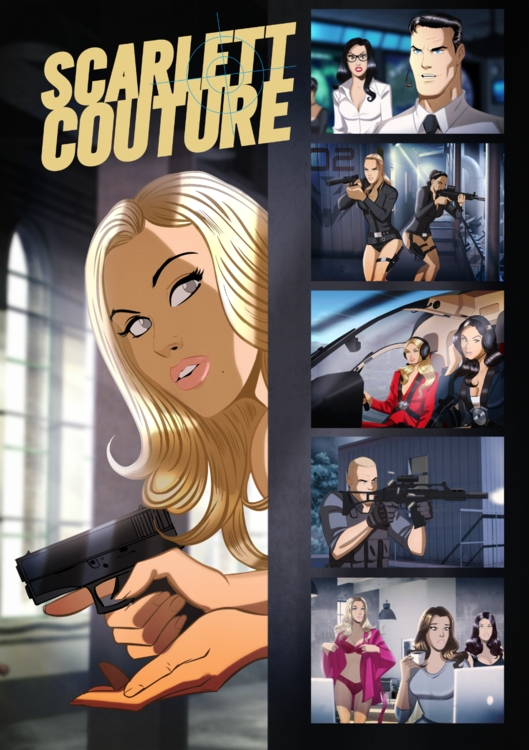 Scarlett Couture (new book) by Des Taylor
