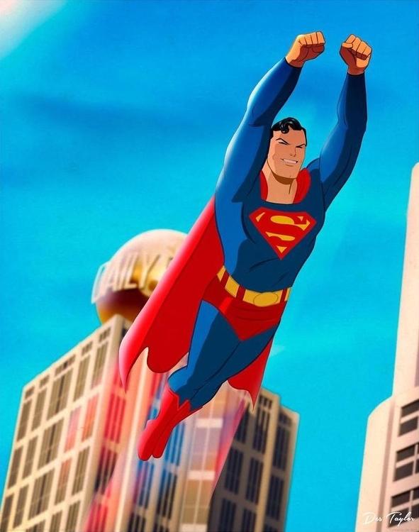 Superman by Des Taylor