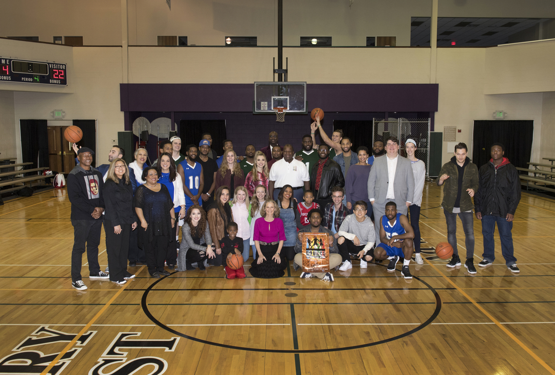 Kentucky premiere of BOUNCE The Basketball Opera  - Photo by Arthur Elgort.