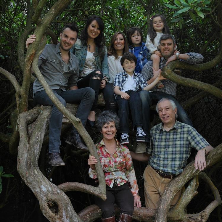 Family portrait | Photo by Carl Bromwich | Courtesy of Marina Chapman.