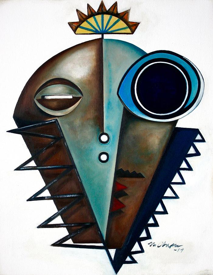 Mask-Modern-saxophonist-by-Martel-Chapman