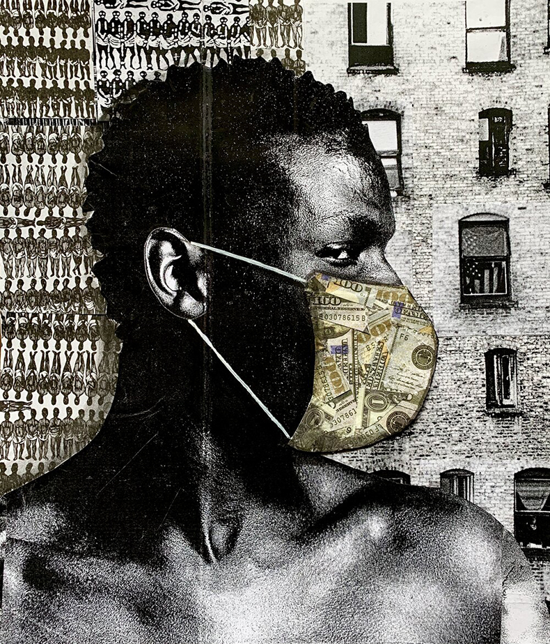 ©PATRICK-DOUGHER - COLLAGES