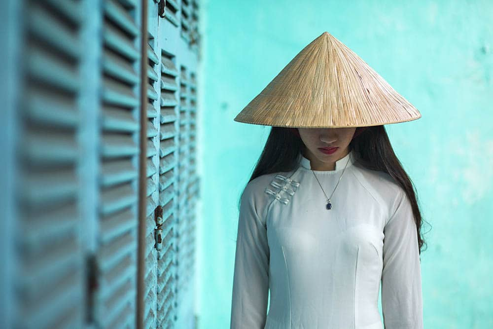Ao Dai Collection - Photo by Réhahn.