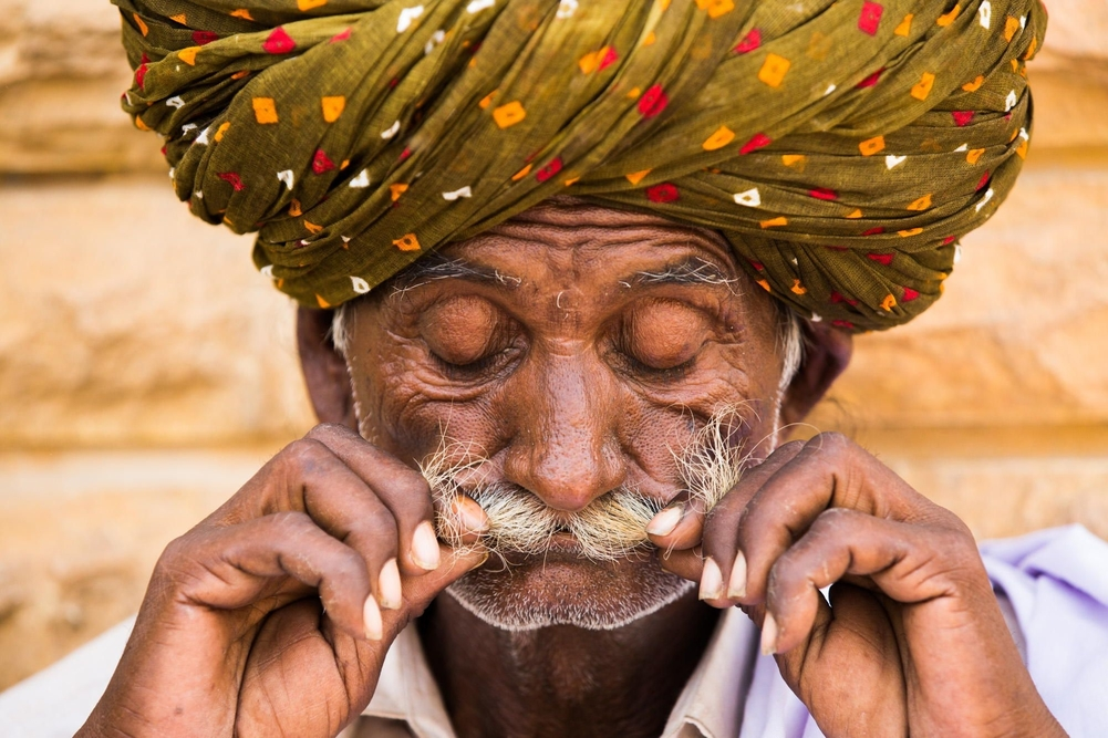 Portrait of Rajasthan - Photo by Réhahn.