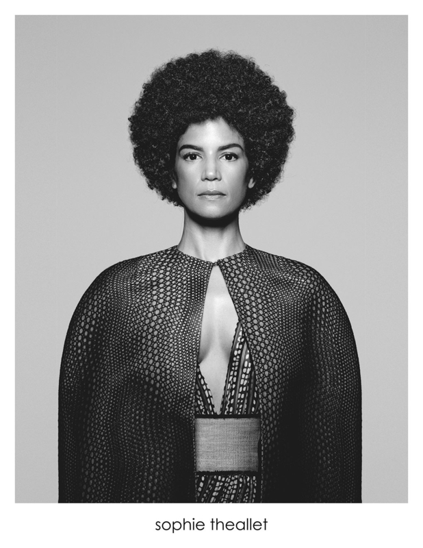 Veronica Webb for Sophie Theallet | Photos by Tiziano Magni (Print & Contact) |Styling – Jenke Tailly | Hair – Leonardo Manetti | Make-Up – Daniel Martin.
